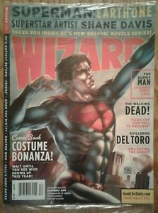 WIZARD COMICS MAGAZINE #231 November 2010 Sealed, Superman cover