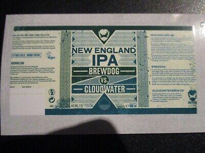 BREWDOG BREW DOG New England IPA Cloudwater 68 STICKER DECAL craft beer brewery