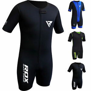 RDX-Sudation-Survetement-Costume-De-Sauna-Sweat-Suit-Perte-Poids-Training-FR