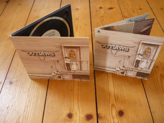 Outlaws – The Outlaws / Lady In Waiting DIGIPAK REMASTERED HDCD