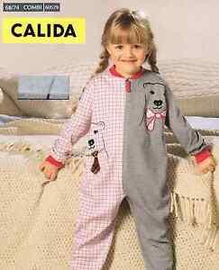wholesale dealer 319f2 6bc5c Details zu Calida Mädchen Schlafanzug Baby Pyjama Gr. 68 / 74 Kinder online  günstig kaufen