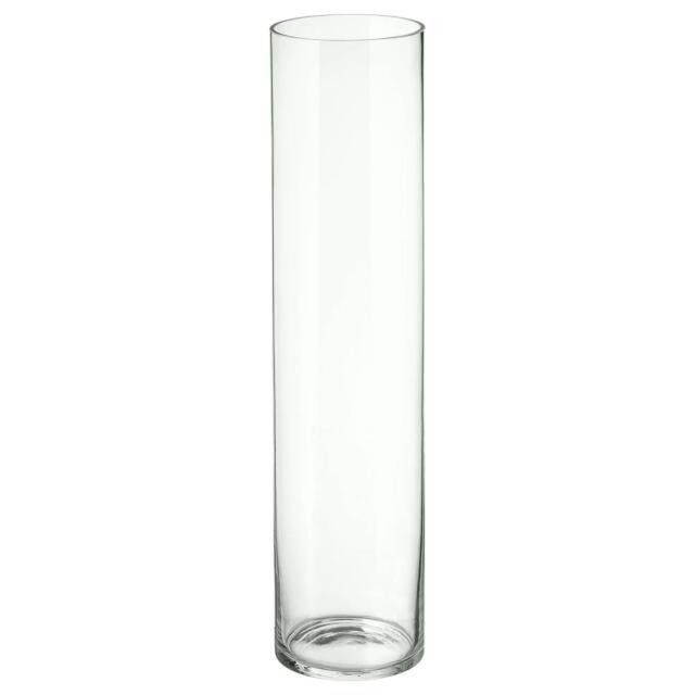 Mirrored Glass Decorative Vase Centerpiece Ornament 20cm tall