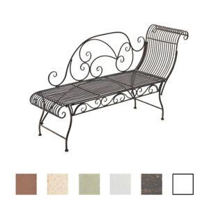 Forgé Longue De Romantique Style Chaise Banc 160x46 Jardin Fer Karma Cm Sur Détails ZwiTPXOku
