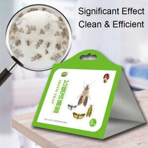 5x/pack Pantry Kitchen Food Moth Pheromone Attractant Moth Killer Moth Trap BKN