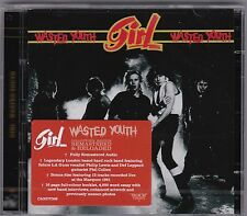 GIRL 'WASTED YOUTH' + 12 BONUS TRACKS 2CD SET 2016 ROCK CANDY RMSTD NEW!