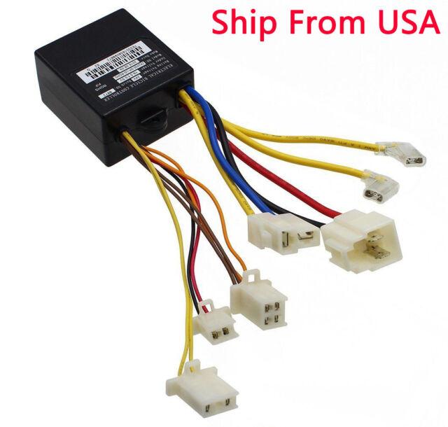 24v Control Module 4-wire Throttle Connector for The Razor E100/e125 on