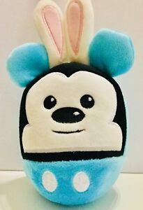 Hallmark-Disney-Mickey-Mouse-Fluff-Balls-Bunny-Rabbits-Egg-Shaped-Easter-00-99