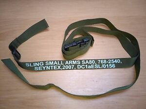British Forces SA80 Rifle Three Point Tactical Sling Olive  NEW - London, United Kingdom - If you are not satisfied with the, you may return it within 14 days, for a prompt refund Most purchases from business sellers are protected by the Consumer Contract Regulations 2013 which give you the right to cancel the purchase  - London, United Kingdom