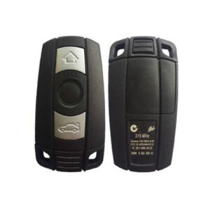NEW Replacement Car Smart Key Keyless Entry Remote Key Shell Case for BMW 525i 325i M6 M5 650i 550i 128i 135i 328i 328xi 330Ci 330xi 335i 1 3 5 7 X5 X6 KR55WK49127 Just a key Shell