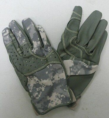 US ARMY ACU FLAME / FIRE RESISTANT ANVIL GLOVES MASSIF NOMEX FOLIAGE GRN SM & XL