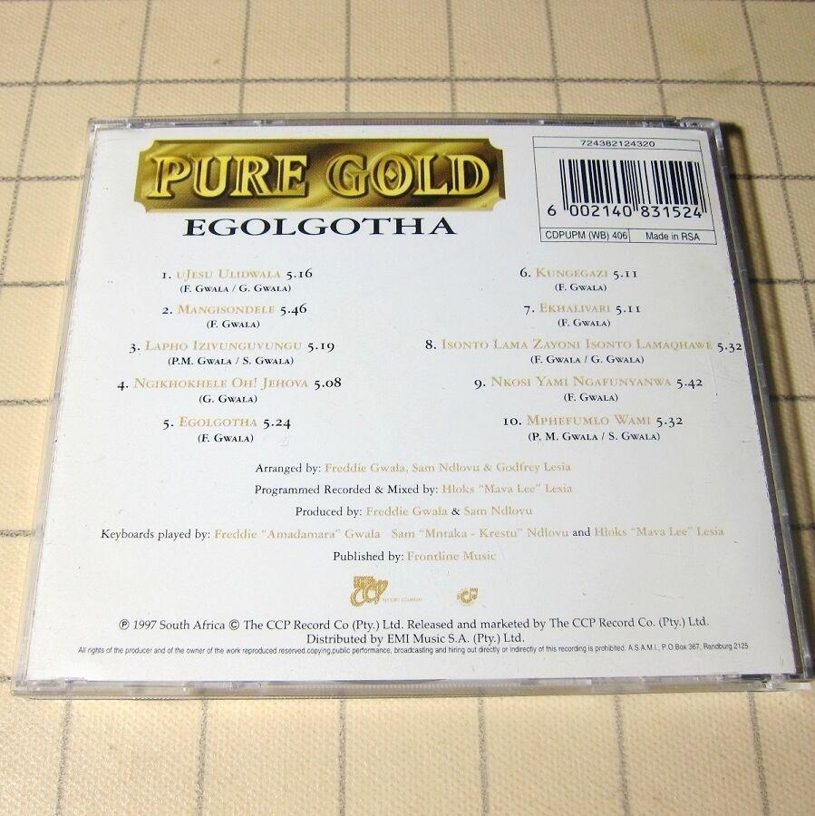Pure Gold - Egolgotha 1997 RSA CD South African Traditional #i01