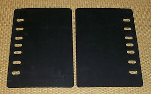 COMPACT SizeBlack PAGE SAVERS//Lifter FRANKLIN COVEY Sheet Protector Boards