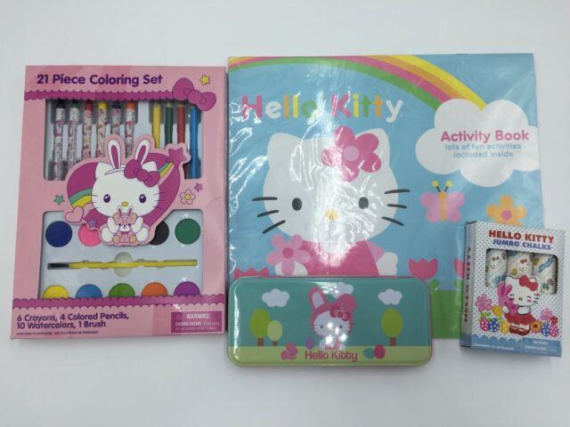 New In Pack Hello Kitty Sanrio Pencils 4 Pack
