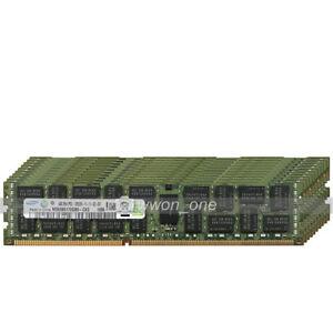 Samsung-64GB-16x4GB-2Rx4-PC3-12800R-DDR3-1600-240Pin-ECC-Registered-Server-RAM