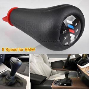 6-Speed-Gear-Knob-Shift-Leather-M-sport-for-BMW-E36-E46-E90-E91-E92-E39-E60-E61