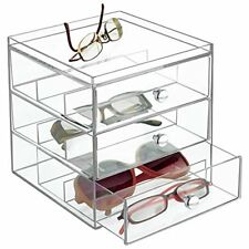 4c2efbe696c7 mDesign Fashion Jewelry Organizer for Watches Bracelets Sunglasses ...
