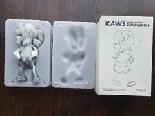 Authentic KAWS Original Fake Lazzarini Companion Bearbrick Medicom NIB GREY