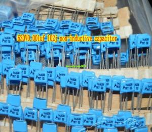 630V 0.001uf 102j Non-inductive capacitor Film capacitor HiFi Audio parts