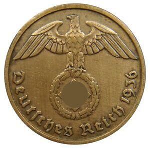 (g76) - Deutschland Germany Drittes Reich - 2 Reichspfennig 1936-1940 - Km# 90