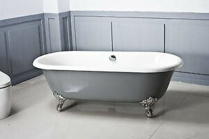 NEW-Dual-cast-iron-claw-foot-bath-1700-EXCLUSIVE-BATH-SUPPLIERS-SINCE-1976