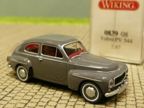 1//87 Wiking Volvo PV 544 grau 0839 08