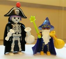Playmobil 3025 Skeleton and Wizard - Trick or Treaters