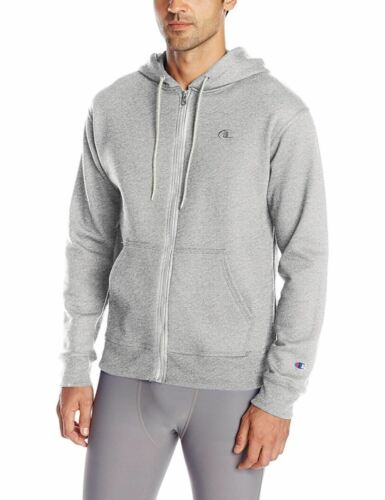 Champion Men/'s Powerblend Fleece Full-Zip Hoodie Hooded Sweatshirt S0891 Jacket