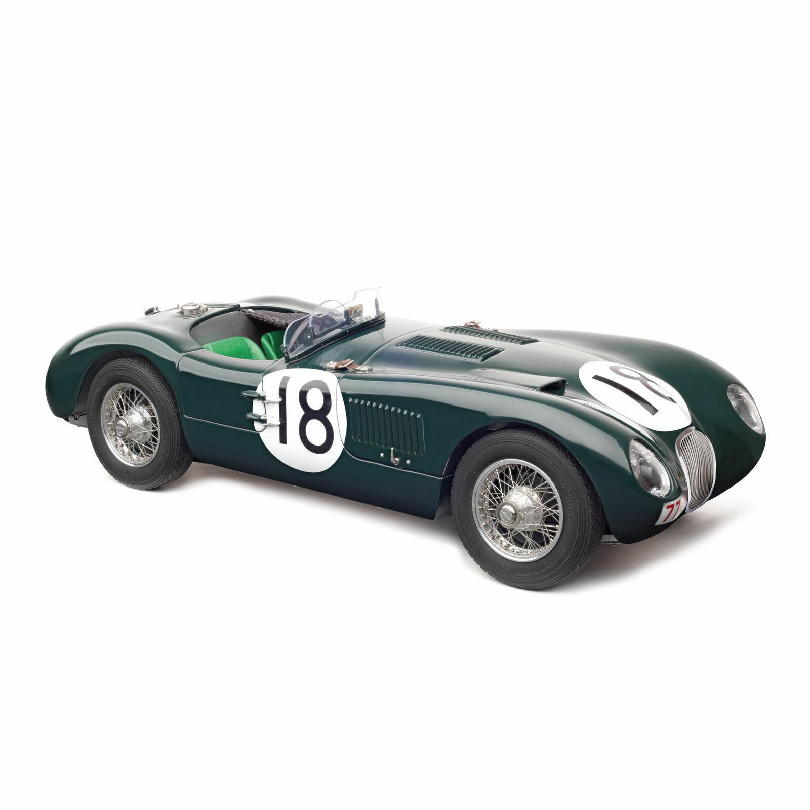 CMC 195-Jaguar Type C 18 Rolt Duncan Hamilton 24H France Le Mans 1953 1 18