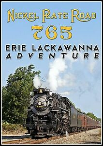 Details about NICKEL PLATE ROAD 765 ERIE LACKAWANNA ADVENTURE STEAM TRAIN  VIDEOS NEW DVD VIDEO