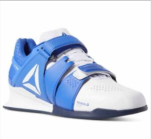 Reebok-Legacy-Lifter-Weight-Training-Men-039-s-Shoes-Train-Right-New-Cobalt