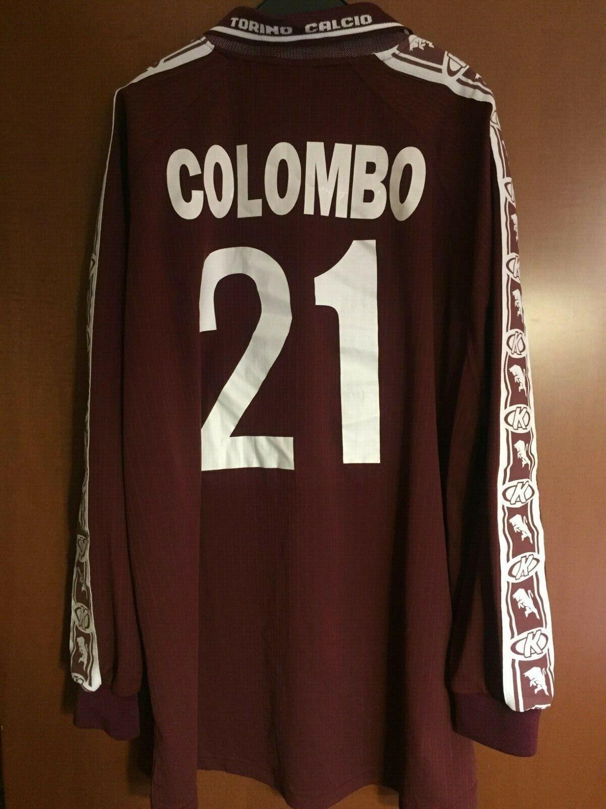Maglia Shirt Trikot Maillot Camiseta Torino Colombo SDA