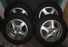 4 x Alufelgen Autec mit Winterreifen 2013 Dunlop SP Response mit Gasfüllung TOP!