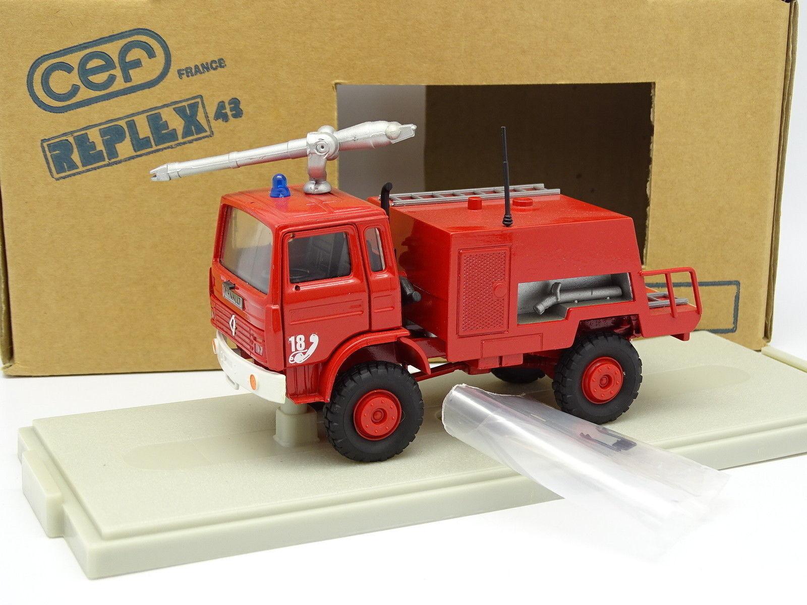 Cef replex 1   43 - renault ivr - geländewagen vor - werfer wasser feuerwehr