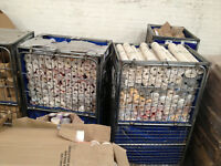 100 x Wallpaper, Wholesale Joblot Ideal for Car Booters, Market Stalls, lot BNIB