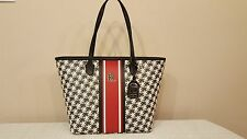 NWT Lauren Ralph Lauren Dobson Ashley Tote Shopper Handbag Black $198.00