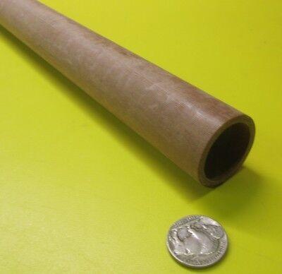 "Garolite Phenolic LE Linen Tube 1 5//16/"" OD x 1 1//4/"" ID x 1//32/"" Wall 7101KL"
