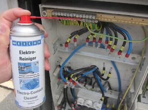 Elektroreiniger Kontaktreiniger CLEANER WEICON 11210400 Spraydose 400 ml