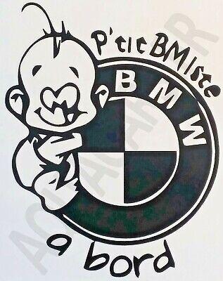 Noir Sticker autocollant b/éb/é /à bord super b/éb/é /à bord style superman