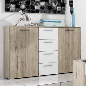 kommode berlin schubkastenkommode anrichte in san remo. Black Bedroom Furniture Sets. Home Design Ideas