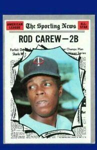 1970 Topps Rod Carew #453 Baseball Card - Minnesota Twins HOF