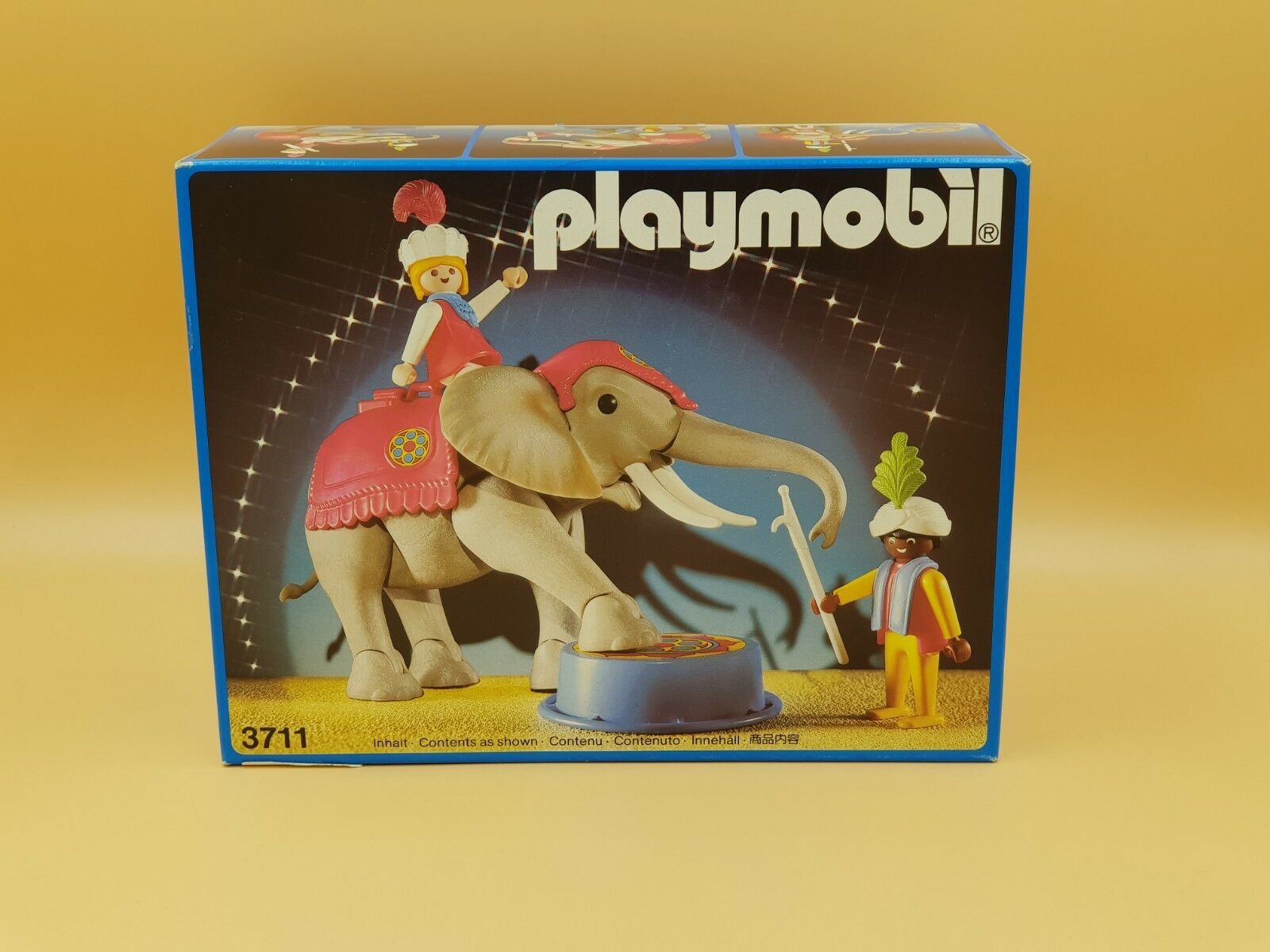 Playmobil 3711 Elephant With Rider And Handler Version 1 NEW IN BOX