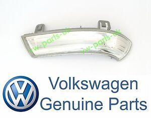 GENUINE-VW-Wing-Mirror-Indicator-Turn-Signal-Lens-Passenger-Side-Left-LED-Bulb