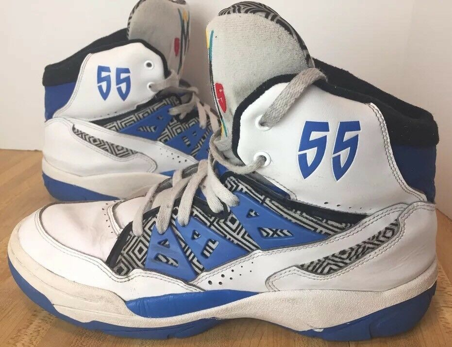 adidas Originals Mutombo size 10.5 Shoes Men's White Blue Red Rare Retros  Great discount