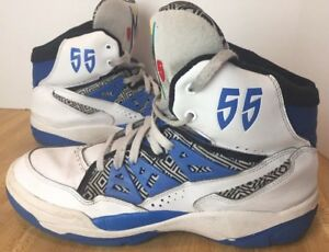 adidas Originals Mutombo size 10.5 Shoes Men s White Blue Red Rare ... cb417d30b