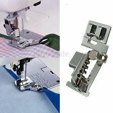 Stainless Steel Sliver Bias Tape Binder Metal Foot For Brother Sewing Machine