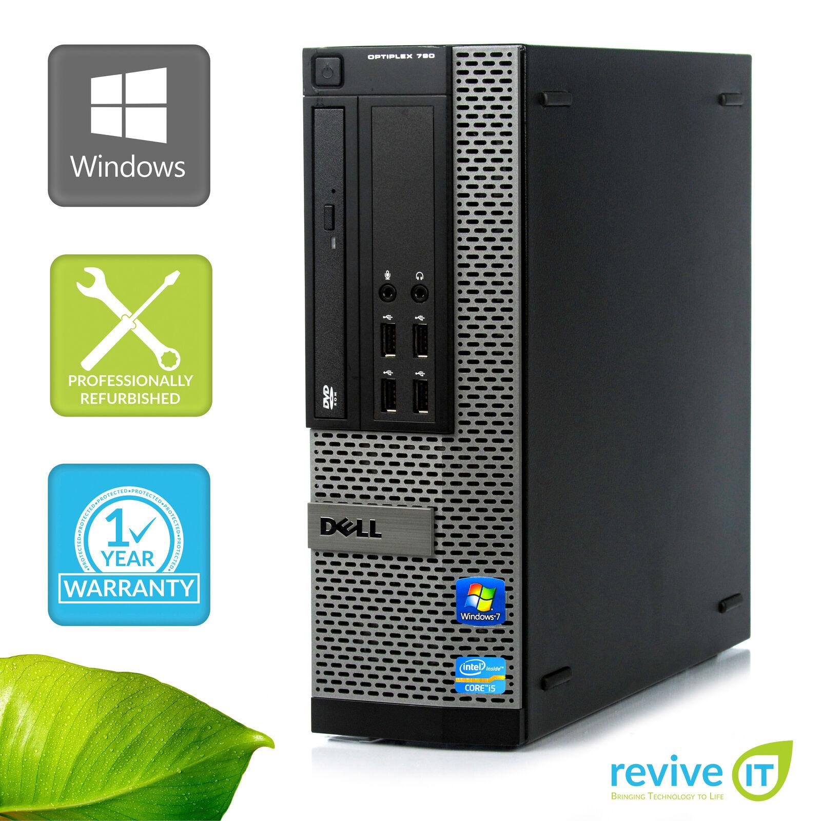 Custom Build Dell Optiplex 790 SFF  i5-2400 3.10GHz Desktop Computer PC