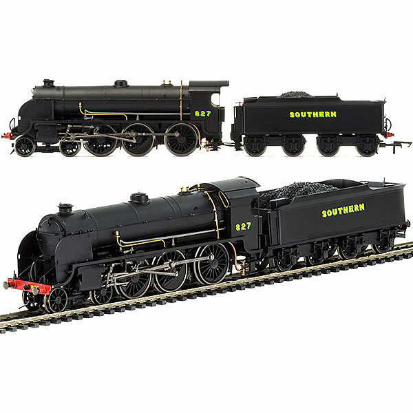 HORNBY Loco R3411 SR 4-6-0 '827' Maunsell S15 Class