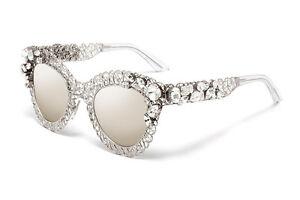 RARE-1360-Ltd-Edn-DOLCE-amp-GABBANA-Filigree-Crystal-Sunglasses-DG-2134-B-M-05-6G
