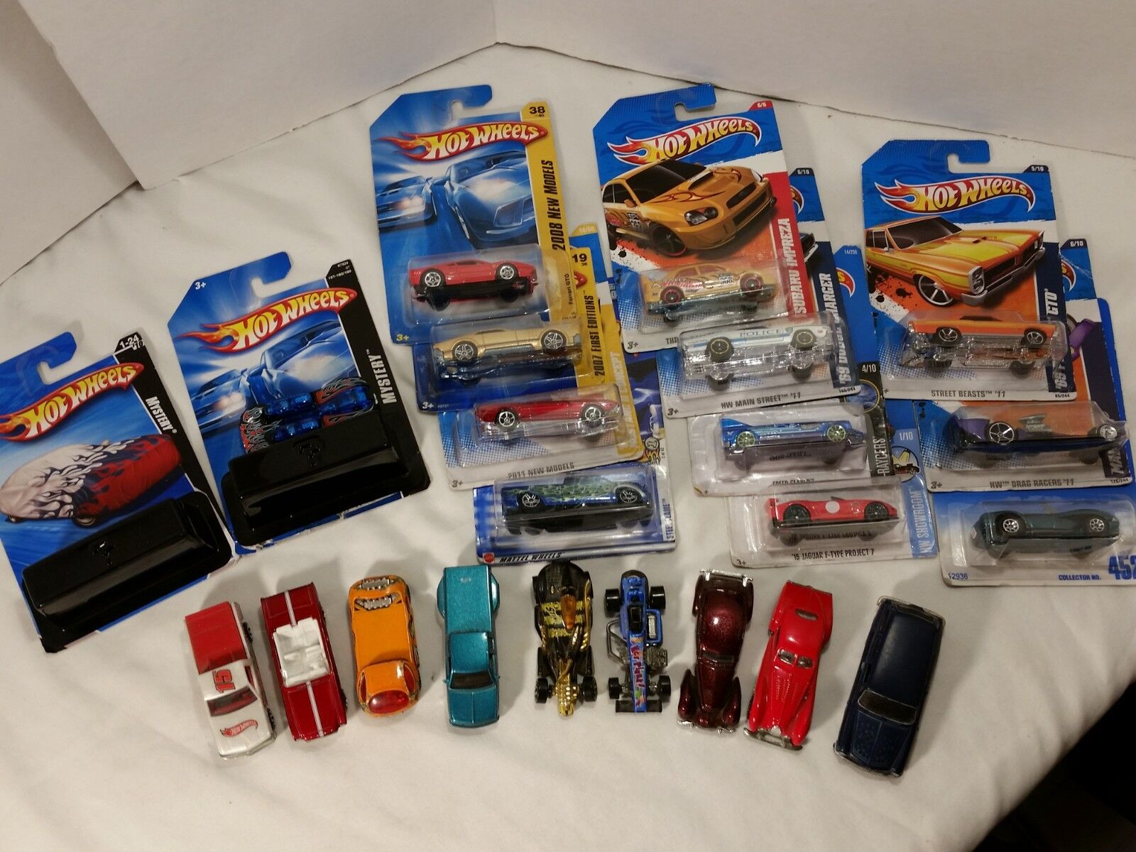 Hotwheels Lot New and Used Mystery