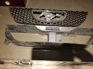 99 00 01 02 03 04 Mustang Gt Svt Cobra Honeycomb Pony Horse Grill Grille Sn95 Ebay